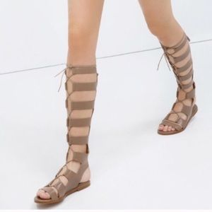 Leather Gladiator Sandals size 41 fits size 10!