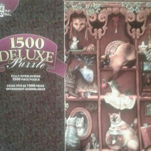 1500 Deluxe Puzzle Cats at Play