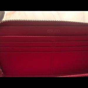 Coach Bags - Coach Poppy Pink wristlet