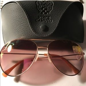 Vince Camuto Mirror-Lens Colored Sunglasses