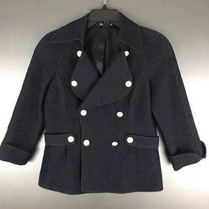 Ellen Tracy Textured Blazer Size 2P