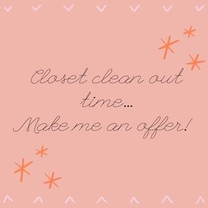 Other - ⭐️⭐️Make me an offer! Closet Clean Out! ⭐️⭐️