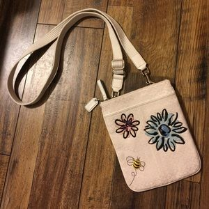 Coach Floral Bee Crossbody Retired