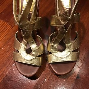 DV by Dolce Vita Shoes - Dolce vita gold wedges