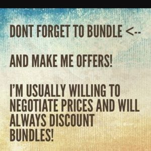 💝 I welcome all reasonable offers! 💝