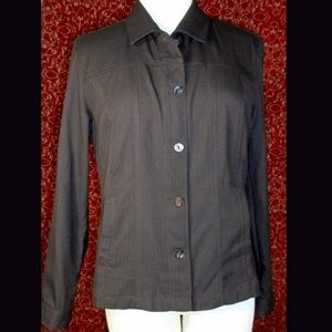 CHICO'S brown jacket 1 (S 8 -10)
