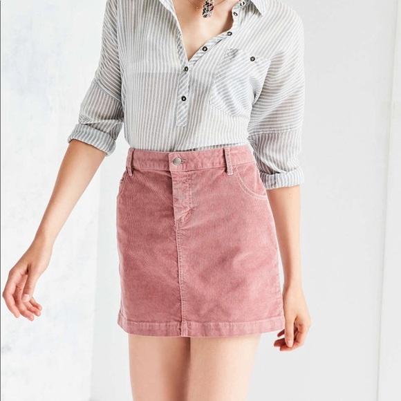 5804214ae BDG Dresses & Skirts - BDG Pink Corduroy Skirt