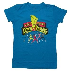 Mighty Morphin' Power Rangers Fitted T-Shirt