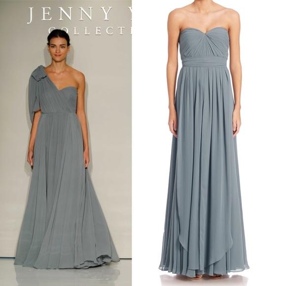 3f621108b7fc Jenny Yoo Dresses & Skirts - Jenny Yoo Mira Convertible Strapless Chiffon