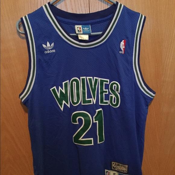 9467d10f1a7 Kevin Garnett Minnesota Timberwolves NBA Jersey