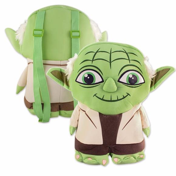 049ac39f6b4 Star Wars Yoda Plush Backpack Buddy. NWT. Disney