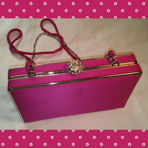 Lulu Townsend Bags - Lulu Townsend! Hot pink 🐩 evening bag