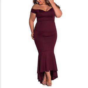 Dresses & Skirts - ♠️Queen of Spades♠️ Off Shoulder Sexy Dress,S-2XL