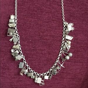 Jewelry - Silver charm Bracelet/necklace