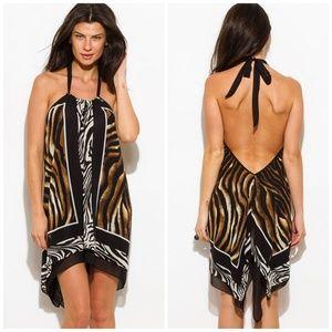 Dresses & Skirts - Coming Soon 👉 Animal Print Mini Sun Dress
