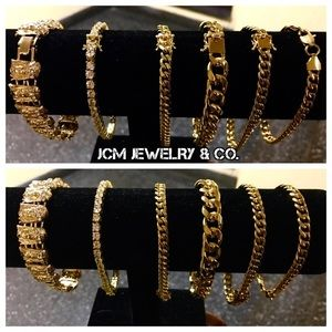 Other - 14K Gold Plated Bracelets ($150 EACH)