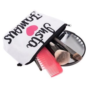 Insta famous cosmetic bag white ig Instagram