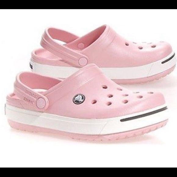 Crocs Toddler Girl Pearly Pink Crocband