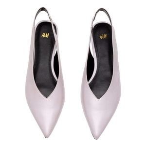NEW H&M Lilac Pointed Toe Slingback