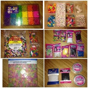 Accessories - 💋BUNDLE OF THOUSANDS KANDI PONY BEADS- sold!