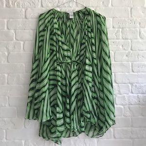 Women's silk beach tunic Diane von Furstenberg