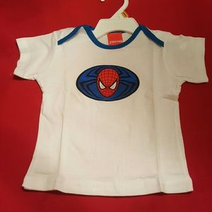 Other - cute baby Spider-Man t-shirt size 6 mos pre-owned