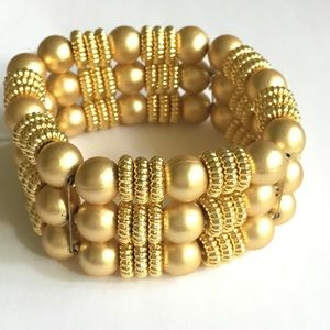 Gold Stretchy Bracelet