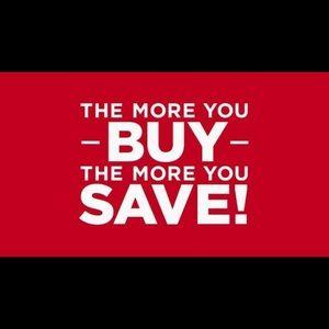 Bundle and save more!!!