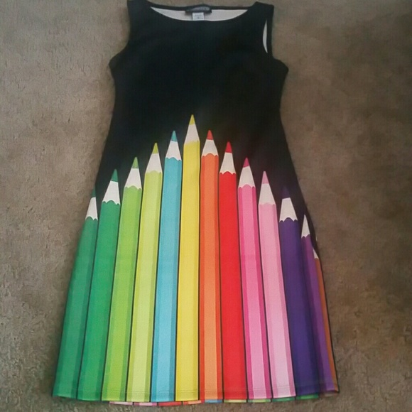 181786a2fc6 The Pyramid Collection Dresses | Colorful Pencil Dress | Poshmark