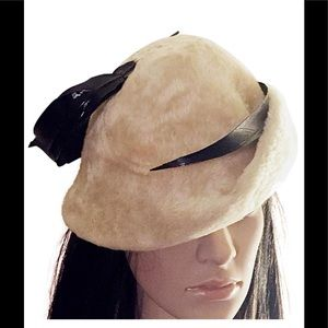 Yves Saint Laurent new with tags 1966 fur hat