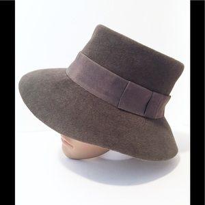 Givenchy vintage 70s felt hat fedora