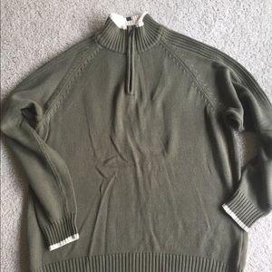 Men's L Columbia cotton sweater