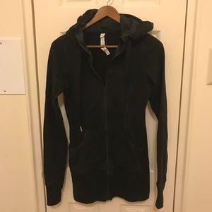 Lululemon black hoodie. Size 4.