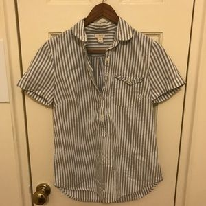 J. Crew Factory striped shirt. Size XS