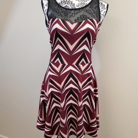 d0d15c31fd Charlotte Russe Dresses   Skirts - Charlotte Russe Geometric Print Dress