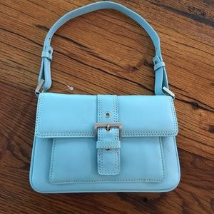 NWOT Talbots soft pebble leather purse