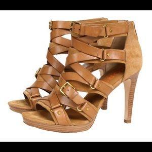 f439a398ab23 KORS Michael Kors Shoes - Bixby Michael Kors tan suede sandals size 8