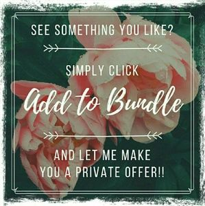 """Use """"Add to Bundle"""" for an offer"""