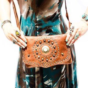 Handbags - Handmade Moroccan Leather Bag HM0028