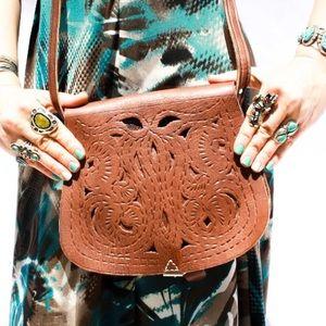 Handbags - 2/24 HP🎉 Leather Moroccan Handmade Bag HM0027