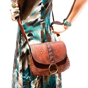 Handbags - Handmade Leather Bag HM0025