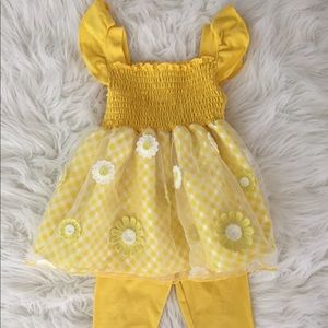 Yellow Daisy Outfit