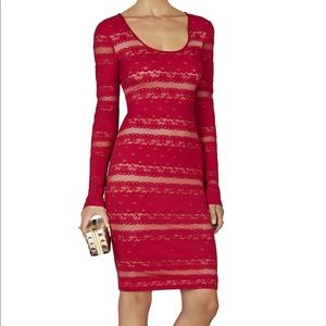 BCBGMAXAZRIA Scoop-Neck Lace Dress - NWT!!!