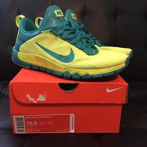 buy popular 62388 7d5fa Other - Mens Nike free trainer 5.0 volt teal size 10.5