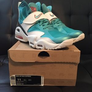 ffbee20e5ba9 Other - Men s Nike air max express dolphins size 11