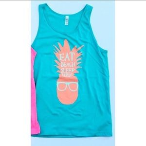 🆕 Kyoot Klothing Pineapple Tank Top