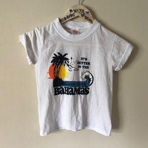 ▪️v i n t a g e   kid's bahamas t-shirt
