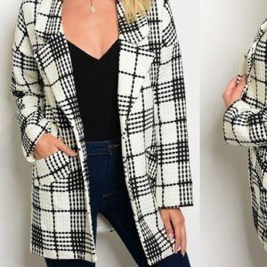 GlamVault Plaid Jacket