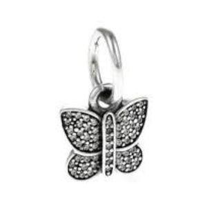 Sparkling Butterfly, Clear CZ Item #791497CZ
