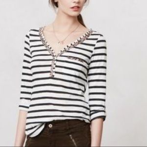 Tops - Anthropology henley